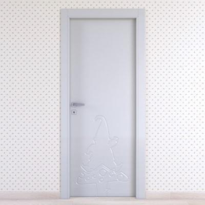 Porta da interno battente Dwarf silk 70 x H 210 cm dx