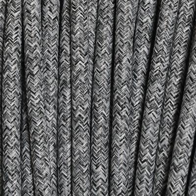 Cavo tessile grigio