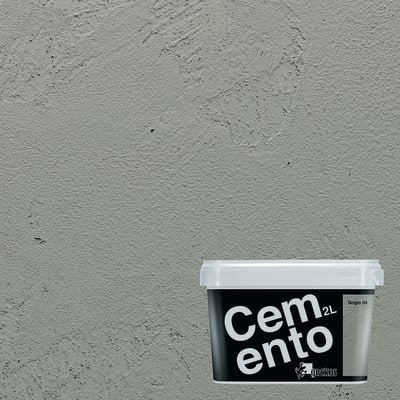 Pittura ad effetto decorativo Cemento Grigio 4 2 L