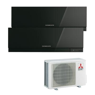 Climatizzatore fisso inverter dualsplit Mitsubishi MXZ-2D53VA2 + MSZ-EF35VE + MSZ-EF35VE 12000 + 12000 BTU classe A++