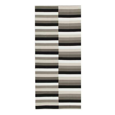 Tappeto Playfull bianco, nero 60 x 120 cm