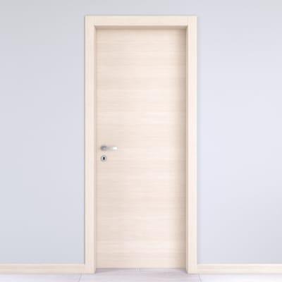 Porta da interno battente Lucad graf matrix 90 x H 210 cm reversibile