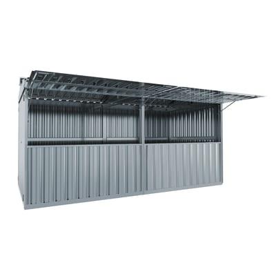 chiosco in metallo Daikiri 12,7 m², 2 ribalte