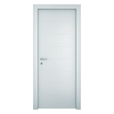 Porta da interno battente Chamberì bianco 70 x H 210 cm dx