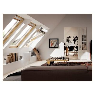 Finestra per tetto velux ggl ck04 elettrica 55 x 98 cm for Offerte tende velux