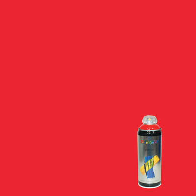 Smalto spray Platinum rosso traffico RAL 3020 brillante 400 ml