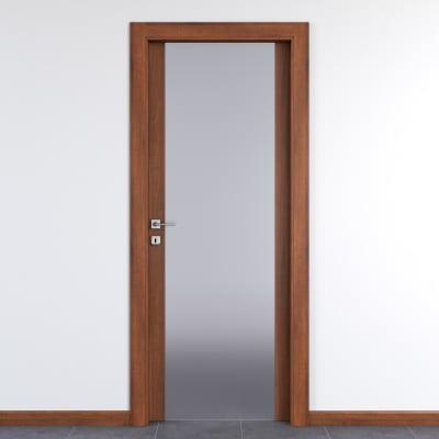 Maniglia per porta con rosetta e bocchetta IGEA in zama