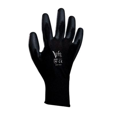Guanti in nylon con spalmatura in poliuretano Vega 6 paia tg. 9/L