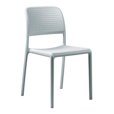 Sedia impilabile Bora Bistrot bianco