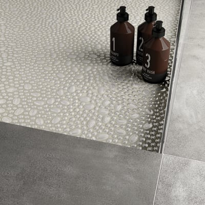 Mosaico Pearl 30 x 30 cm bianco