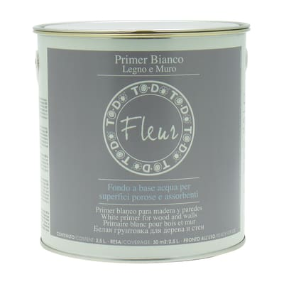 Primer per legno e muro Fleur 2,5 L