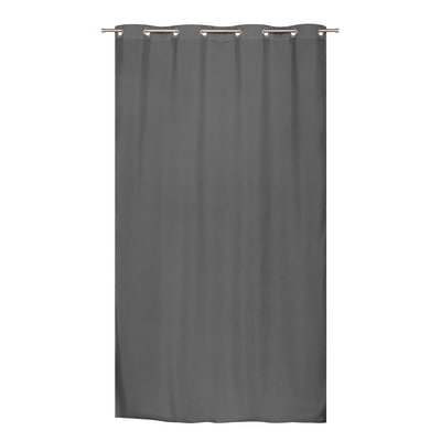 Tenda Stop Cold termica Oscurante occhielli antracite 140 x 280 cm