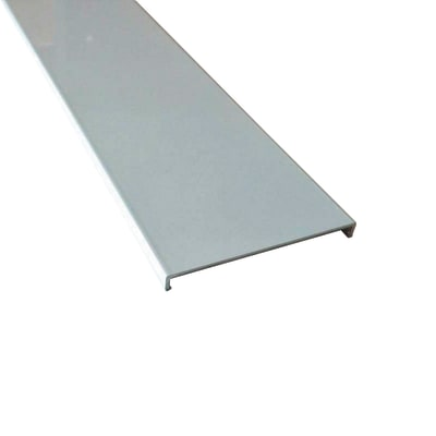 Profilo perimetrale ReadyBlock GlassCover quadro bianco 1 m, 8,53 x 0,75 cm