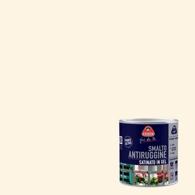 Smalto per ferro antiruggine bianco satinato 2 L