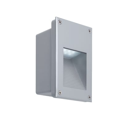 Faretto incasso per esterno a parete Wall LED LED 16,2 x 9,7 cm IP44