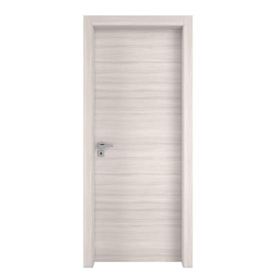 Porta da interno battente Oxford 80 x H 210 cm reversibile