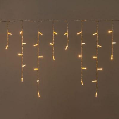 Tenda luminosa 96 maxilucciole Led classica gialla 3 m