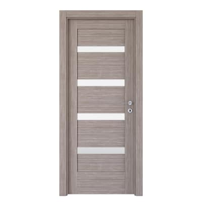 Porta da interno battente Capena 5 sabbia 60 x H 210 cm sx
