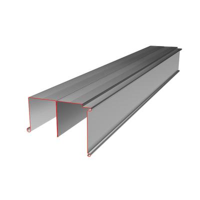 Guide scorrevole L 455 cm