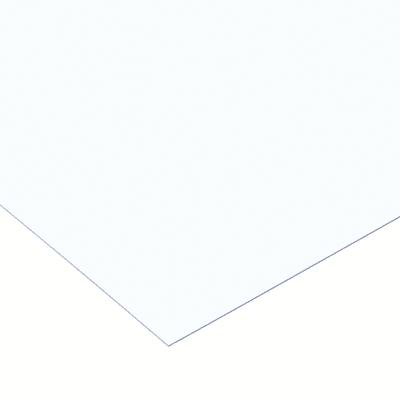 Lastra vetro sintetico trasparente 500 x 500  mm, spessore 2,5 mm