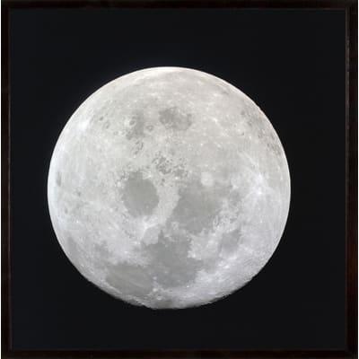 Stampa incorniciata Earth's moon 50 x 50 cm