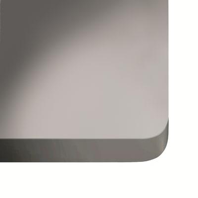 Alzatina su misura Ventus ultra compatto grigio chiaro H 6 cm