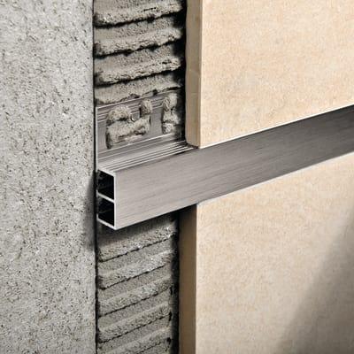 Profilo angolare esterno alluminio 20 mm x 270 cm