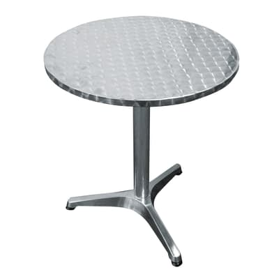 Tavolo Ø 60 cm alluminio
