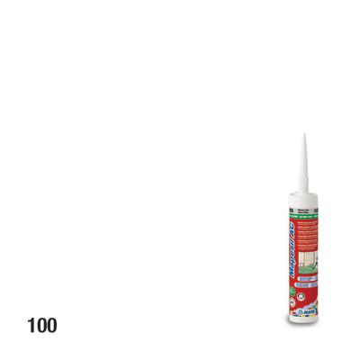 Giunto di dilatazione siliconico per fughe in pasta Mapesil AC 100 bianco 310 ml