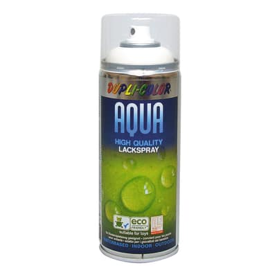 Smalto spray Aqua bianco puro RAL 9010 opaco 350 ml