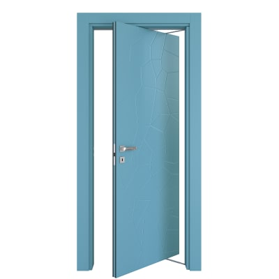 Porta da interno rototraslante The Thing avio 80 x H 210 cm dx