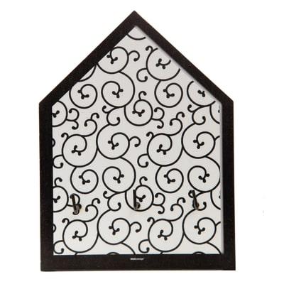 Bacheca porta chiavi Arabesque 3 posti Fantasia 15 x 4 x 20 cm