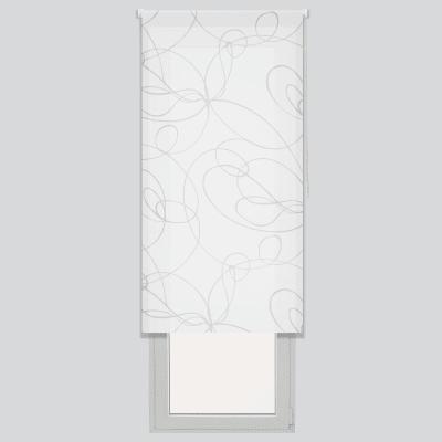 Tenda a rullo Zig zag bianco 90 x 190 cm