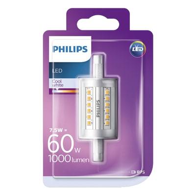 Lampadina LED Philips R7S =60W luce naturale 360°