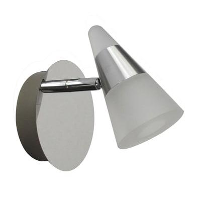 Faretto singolo Inspire Eviz cromo LED integrato