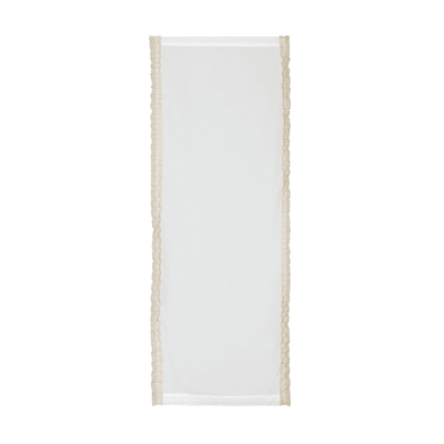 Tendina a vetro per finestra Romantica panna 63 x 160 cm