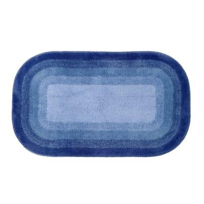 Tappeto bagno Grado blu