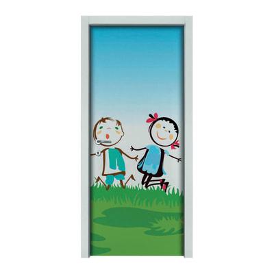 Porta da interno battente Junior 70 x H 210 cm sx