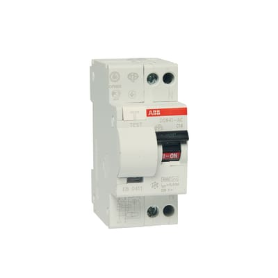 Interruttore magnetotermico differenziale ABB ELDS91LC16AC3 1P + N 16 A