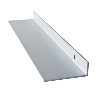 Alzatina Logo bianco P 2 x H 6 cm