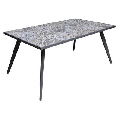 Tavolo Bohemian, 162 x 82 cm antracite