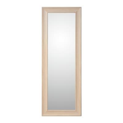 specchio da parete rettangolare Denise rovere 60 x 160 cm