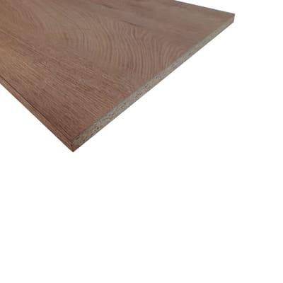Ripiano melaminico rovere 18 x 600 x 2500 mm