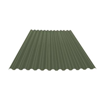 Lastra Ecolina verde in polimglass 110 x 200  cm, spessore 1,8 mm