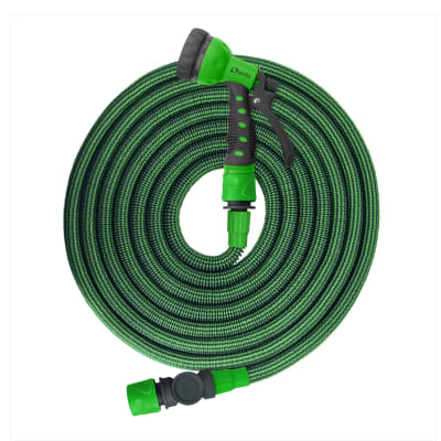 Tubo per irrigazione autoestensibile 15 m con borsa