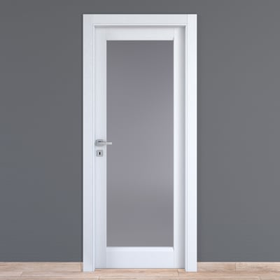 Porta da interno battente Bellatrix bianco 70 x H 210 cm dx
