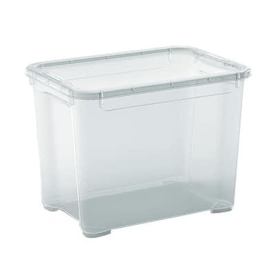 Scatola T Box S L 38 x P 26,5 x H 28,5 cm trasparente