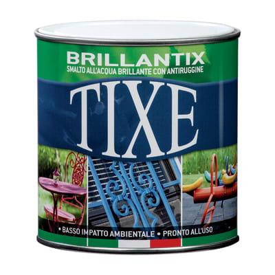 Smalto per ferro antiruggine Tixe Brillantix marrone brillante 0,5 L