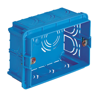 Scatola rettangolare Vimar 0RV71303 azzurra