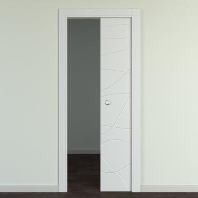 Porta da interno scorrevole Wind silk 80 x H 210 cm reversibile